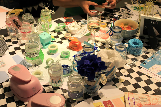 DIY Workshop mit Masking Tape bei How we live Koeln kreatives Chaos