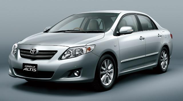 Toyota Corolla Altis - Những xe ô tô bán chạy nhất Việt Nam 2012