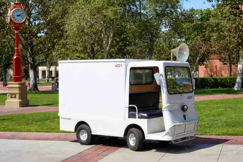 The Schoenberg Soundways truck - USC publicity photo