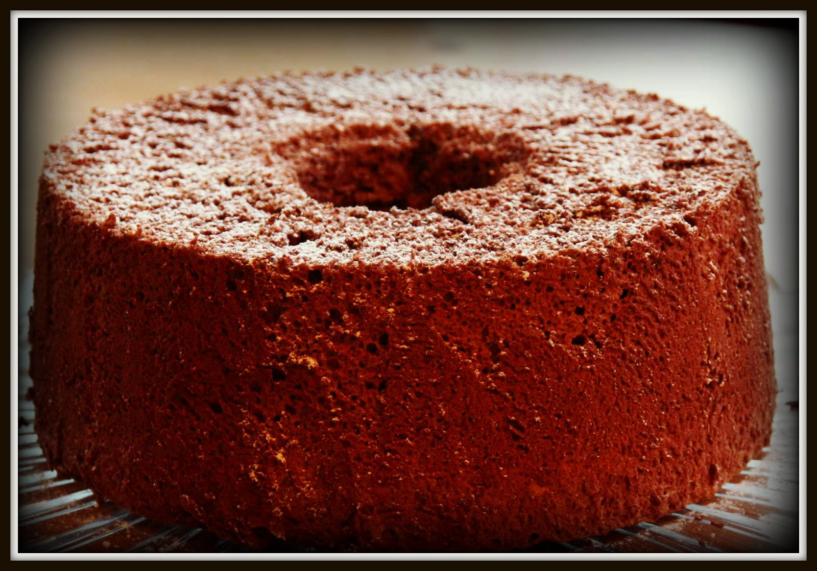 Dying for chocolate chocolate angel food cake chocolate angel food cake forumfinder Image collections