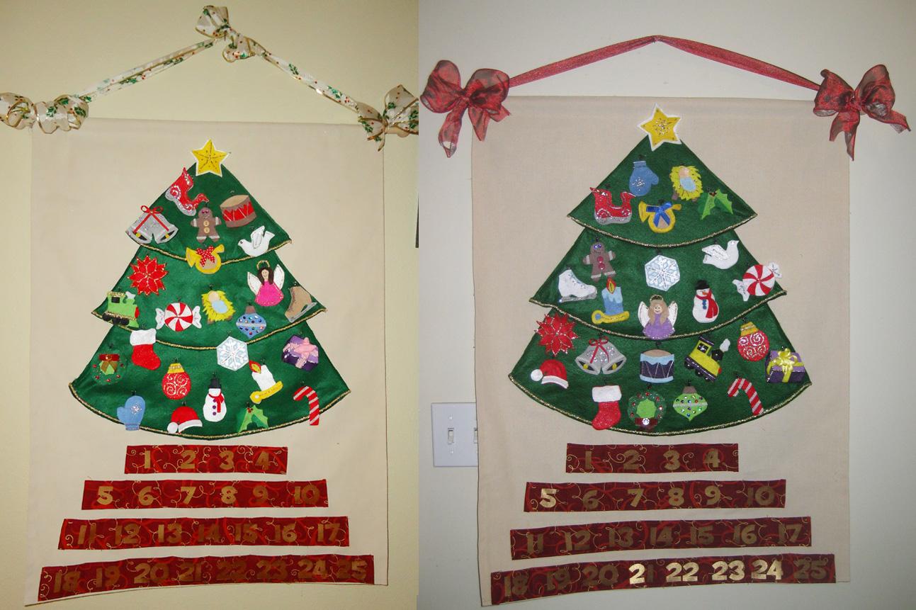 make a christmas calendar