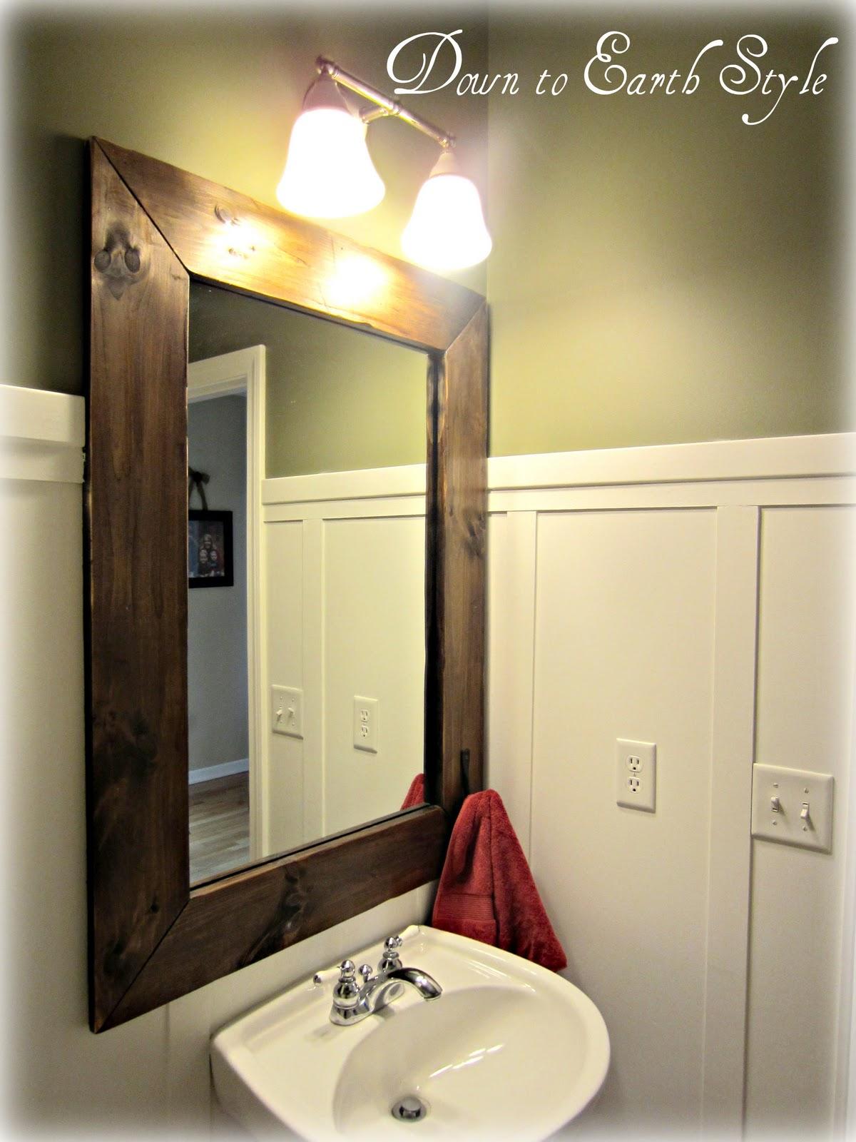 down to earth style board batten bathroom. Black Bedroom Furniture Sets. Home Design Ideas