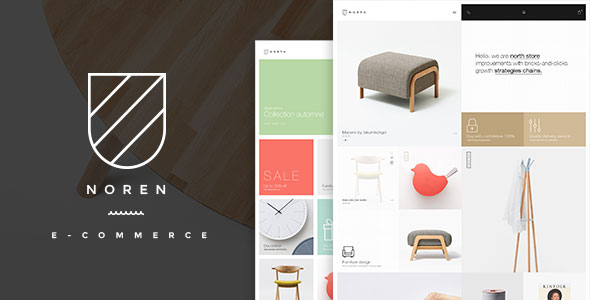 Free Download Noren- Shop WordPress WooCommerce Theme
