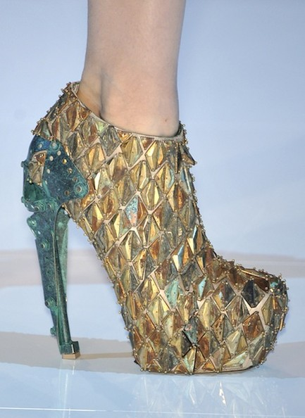 The Fantastical World Of Alexander Mcqueen In Shoes