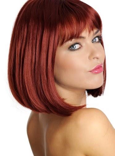 Mujer estilo y belleza pelo cobrizo el color de moda 2015 for Color marmoleado para cabello