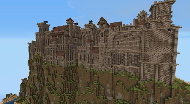 Skyrim castle building kingdom mountain