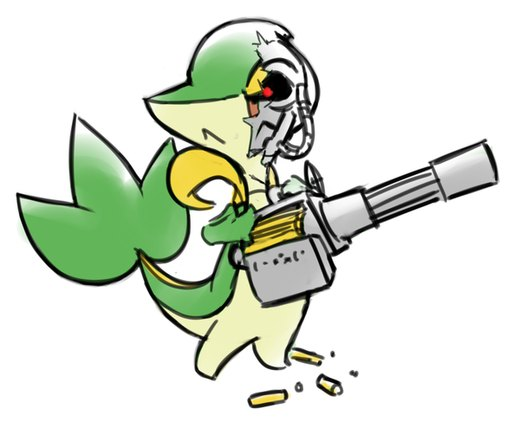 Terminator Snivy? por Keijimatsu