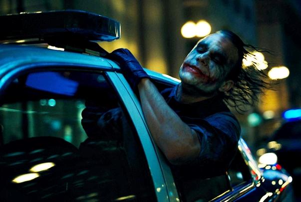 El Joker, El caballero oscuro