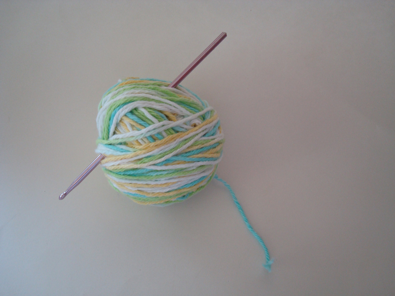 Crocheting Needles And Yarn : Handmade by Haniyyah: Ball of Yarn and Crochet Hook or Needle