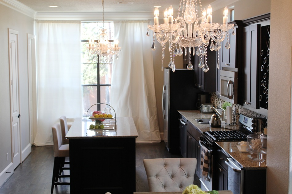home updates restoration hardware curtains for the kitchen u0026 dining room chandelier