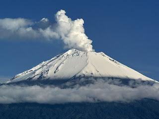 Vulkan Popocatépetl
