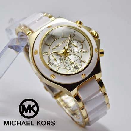 Michael Kors Chronograph putih