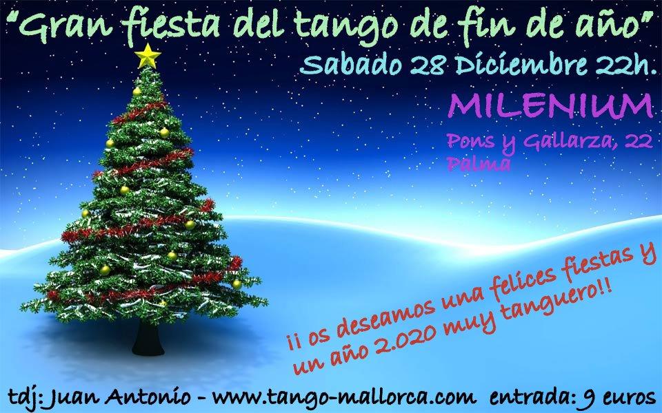 Gran Fiesta del tango de fin de año