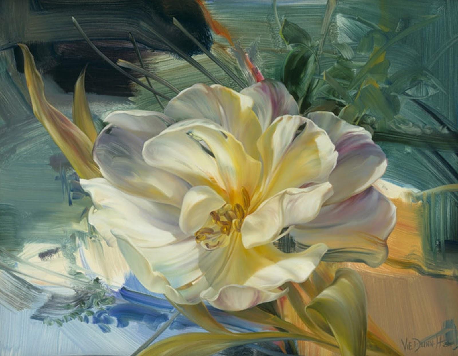 Cuadros al oleo de flores abstractas imagui for Cuadros de oleo modernos