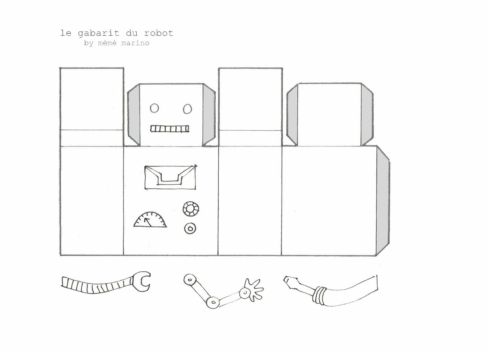 les mumuses de m m une guirlande de robots de no l diy. Black Bedroom Furniture Sets. Home Design Ideas