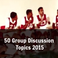 50 Group Discussion  Topics 2015