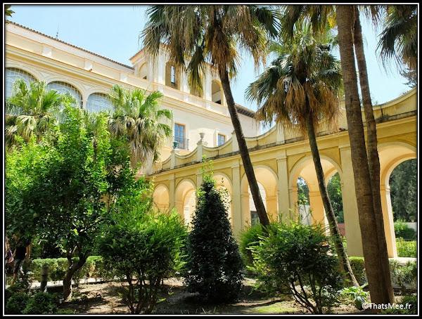 Séville Real Alcazar Jardins patio Palais