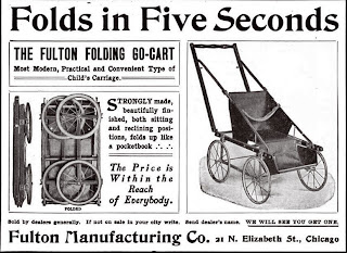 Most Modern, Practical and Convenient Type of Child's Carriage