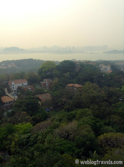 view of xiamen from gulangyu island 1