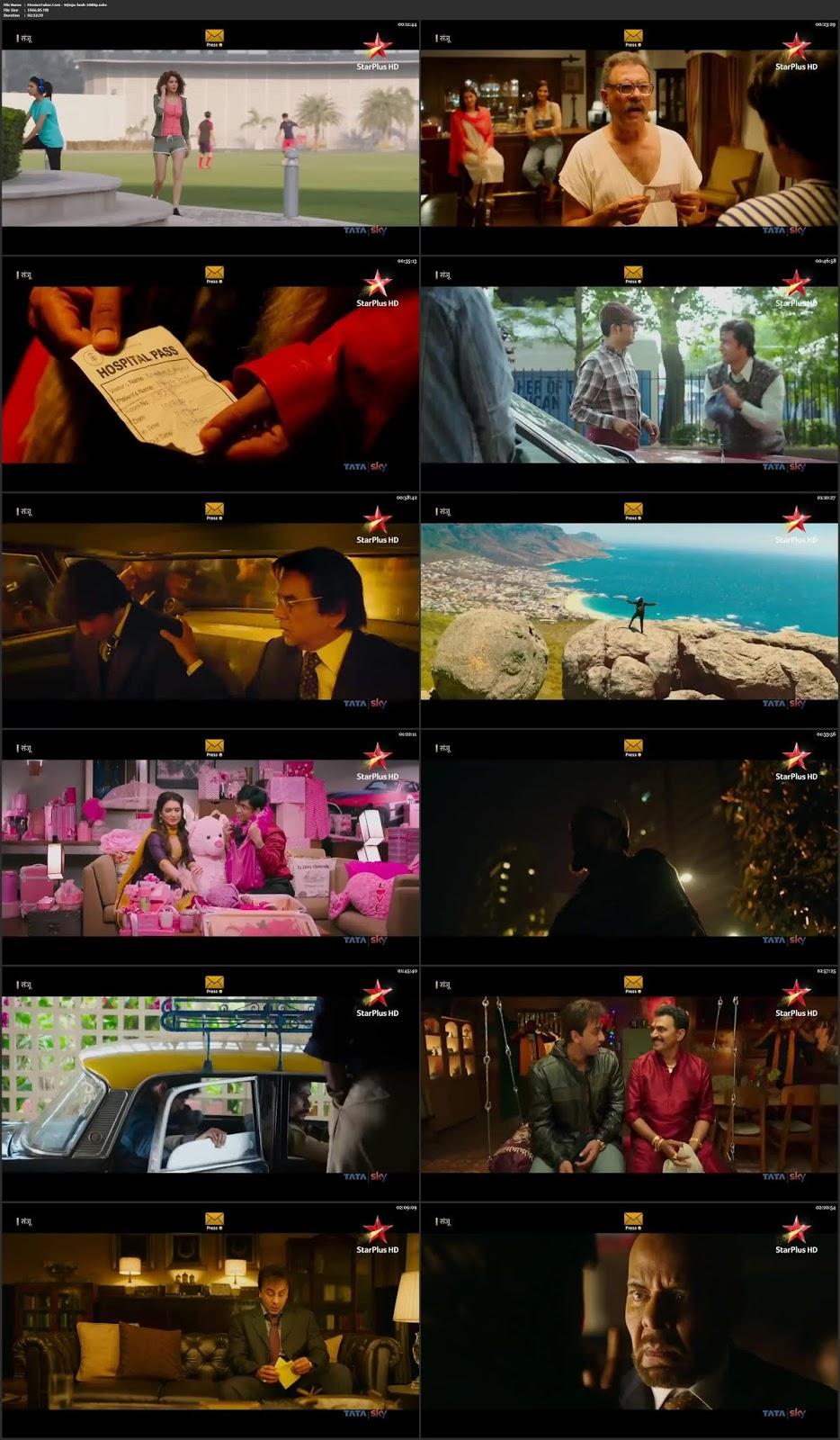 Sanju 2018 Hindi Full Movie HDTV 1080p