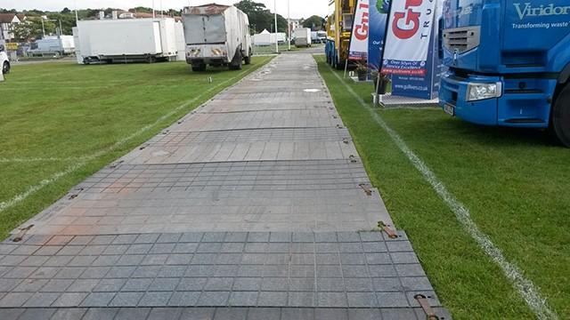 supplying temporary roadways