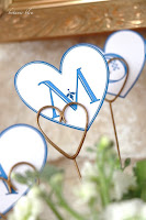 DIY Valentines Blue Banners