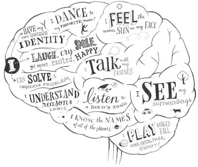 Similar Galleries: Brain Outline , Brain Template Printable ,