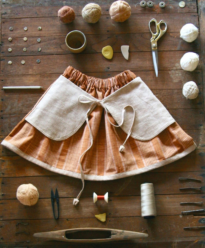 adorable skirt by Vermilio - Ethical, sustainable and soulful kidswear