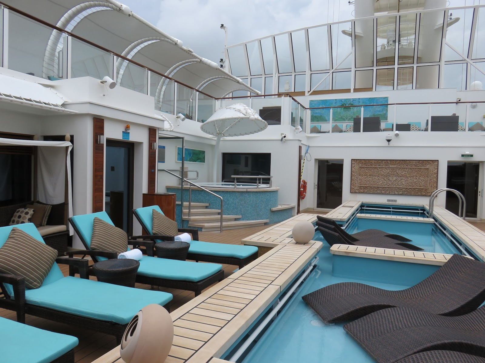Get Lost At Sea Norwegian Getaway The Haven Courtyard Penthouse