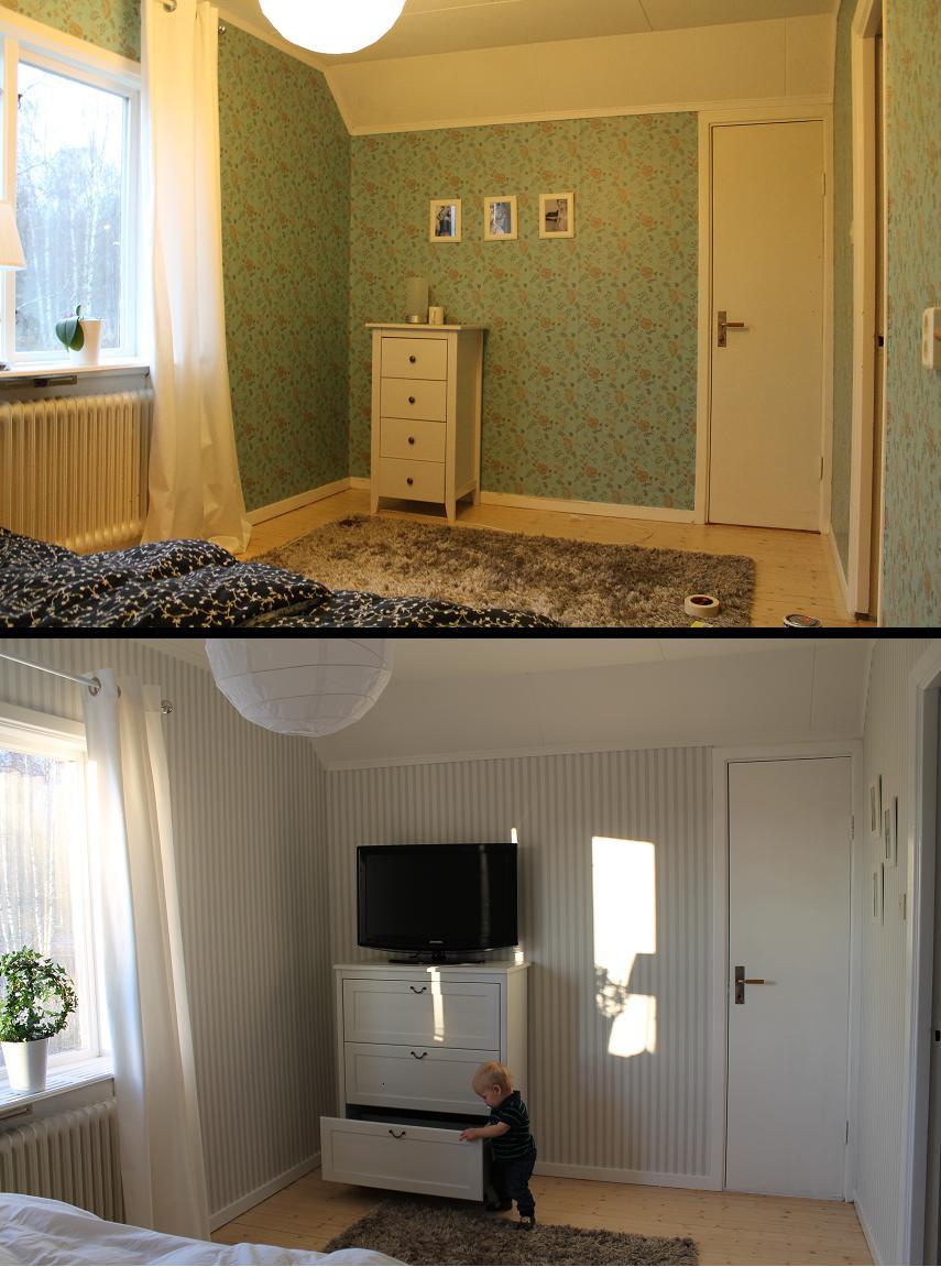 Lyckliga gatan 16 : vårt nya sovrum