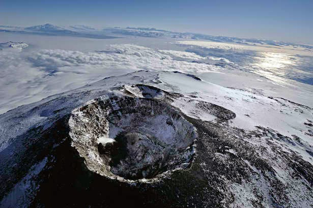 Antarctica's Mount Erebus