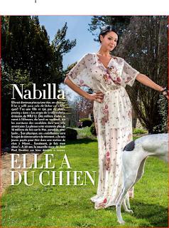 Les Anges 5 : Nabilla dans Paris Match