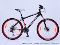 Sepeda Gunung UNITED DOMINATE- 013 24 Speed Shimano Alivio dan Disc Brake 26 Inci