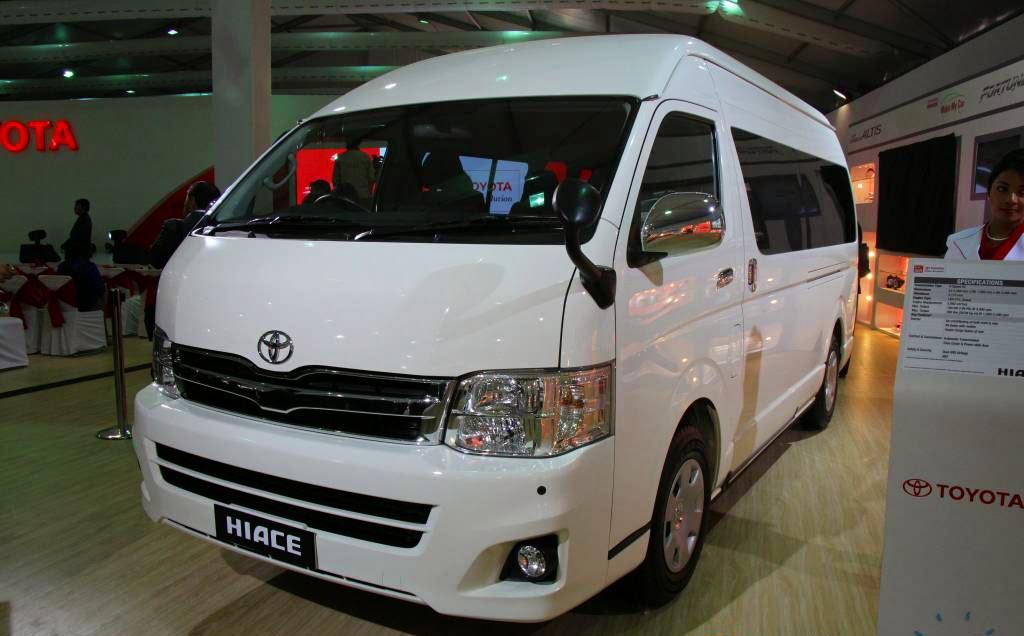 Toyota Hiace 2015 Makin Nyaman