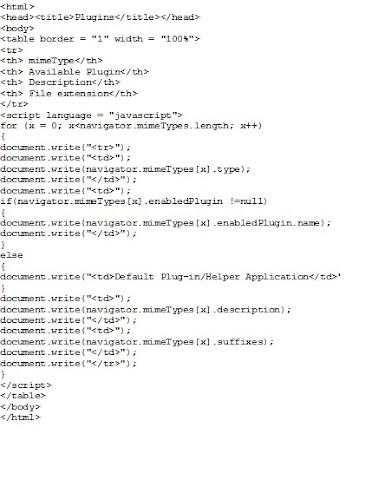 Bay-Six: javascript mime types