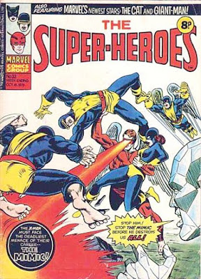 Marvel UK, Super-Heroes #33, X-Men