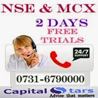 NSE & MCX , 2 DAYS FREE TRIALS