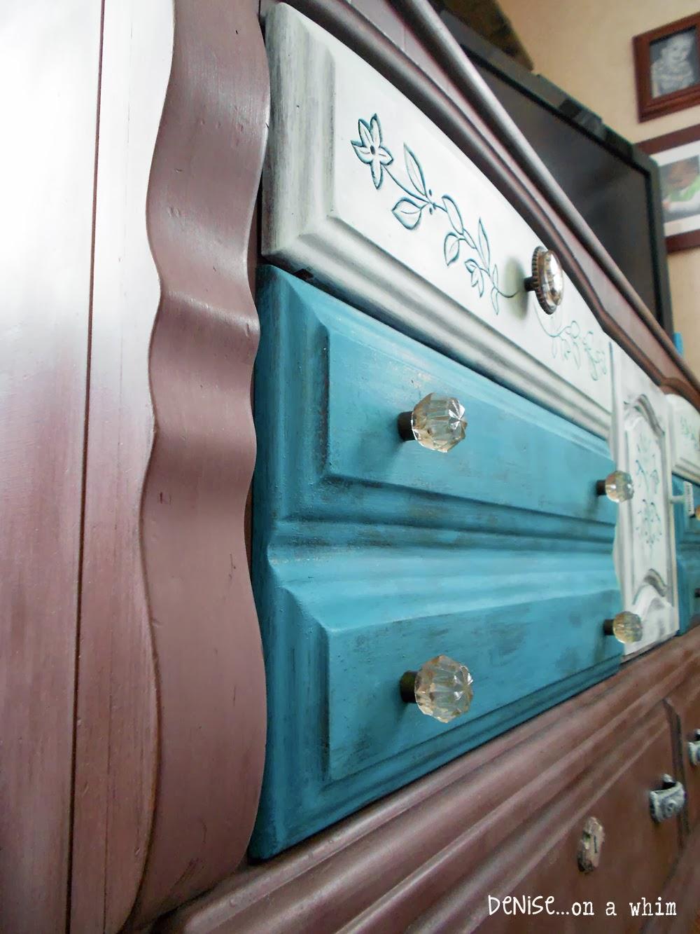 Curvy Dresser Makeover via http://deniseonawhim.blogspot.com