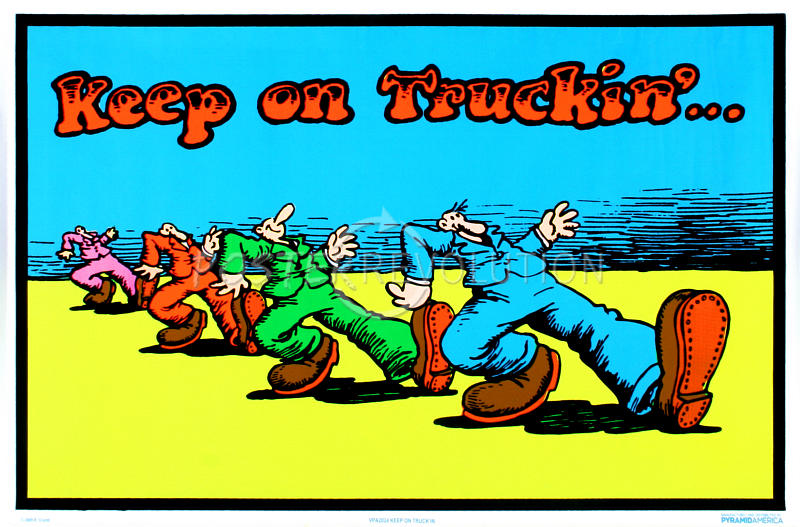 Image result for keep on trucking
