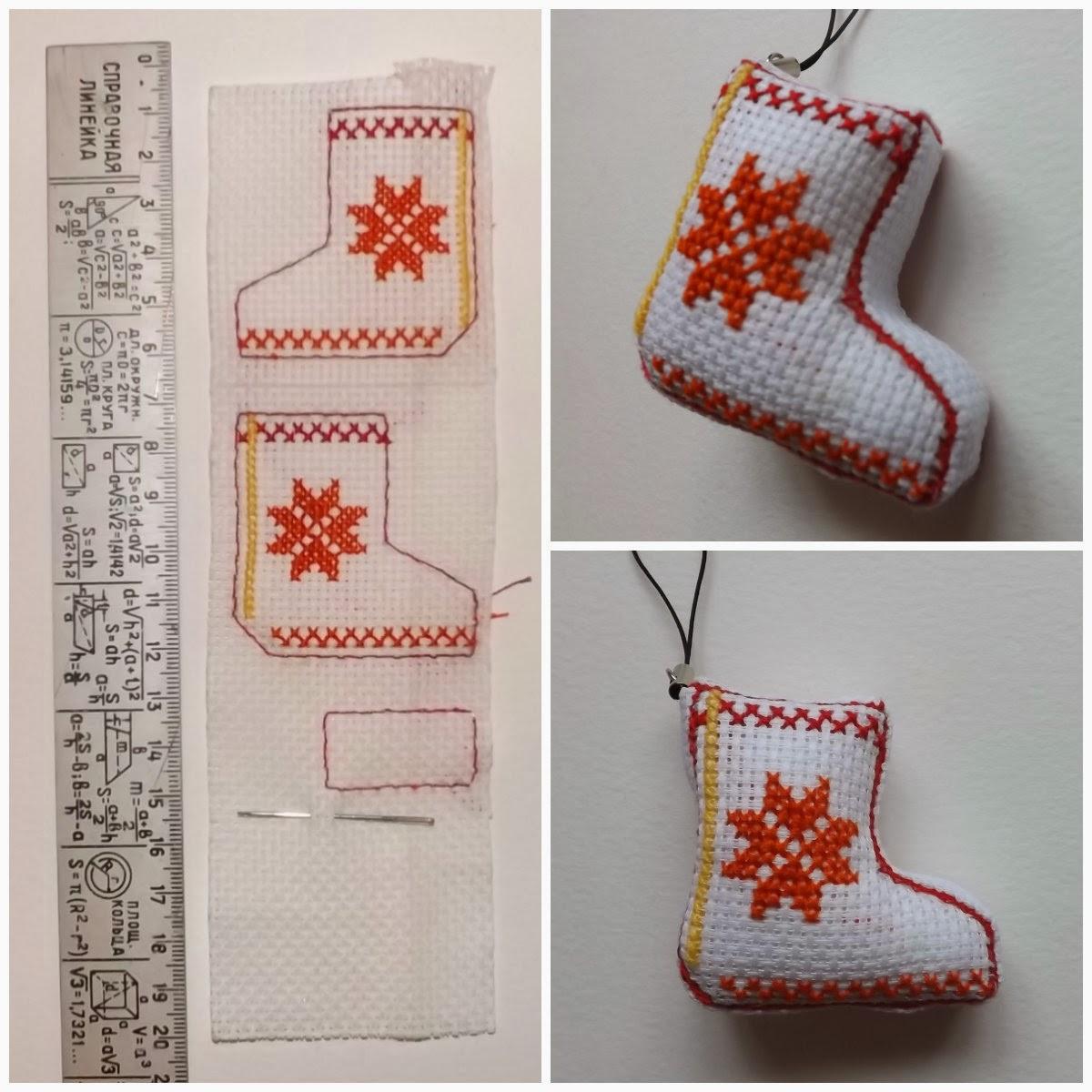 Схемы вышивки новогодние кривульки