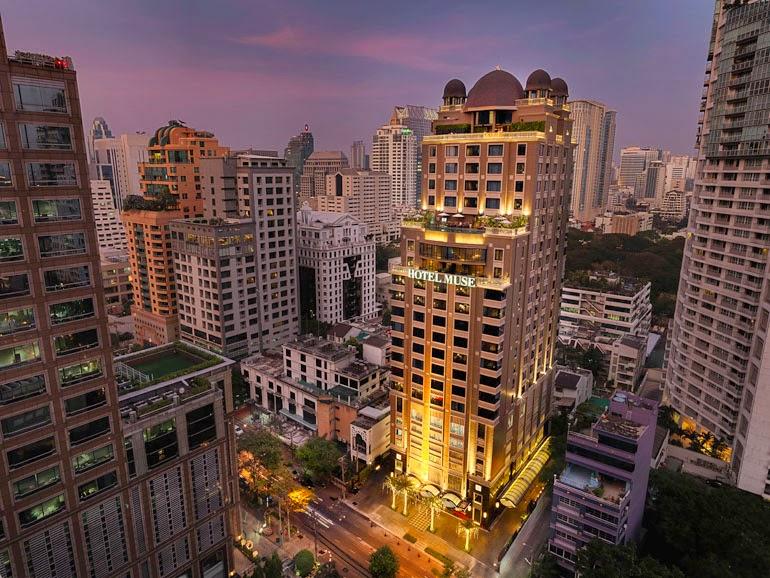 Dusid Duplex Level Hotel Muse Bangkok