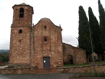 L'església de Sant Martí del Brull