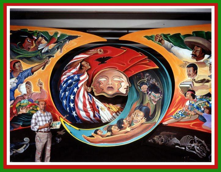 The denver airport conspiracy the international coalition for Mural quetzalcoatl
