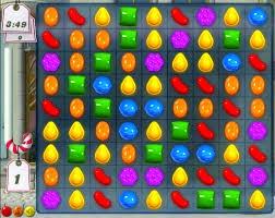 صورة من داخل لعبة candy crush