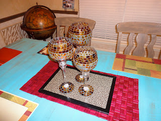 Mom Of 2 Girly Girlz Dining Room Makeover African Style