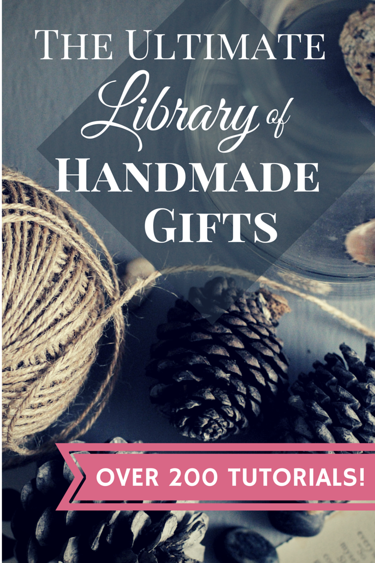 The Ultimate Library of Handmade Gifts: 25 Handmade Beauty Gift Ideas pitterandglink.com