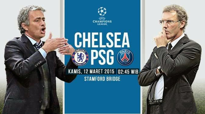 Chelsea vs PSG 16 Besar L   iga Champions 2015