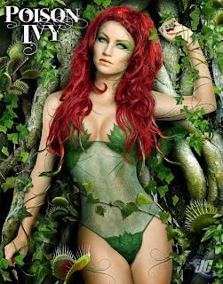 Poison Ivy tree poser
