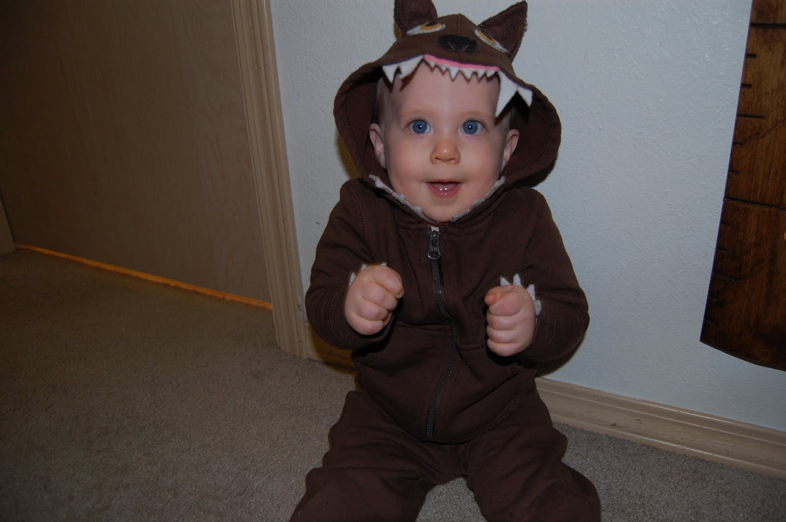 Christiney Crafts Baby Wolf Hoodie Costume