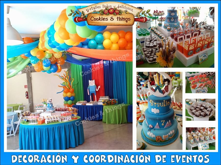 coordinación y decoración de eventos